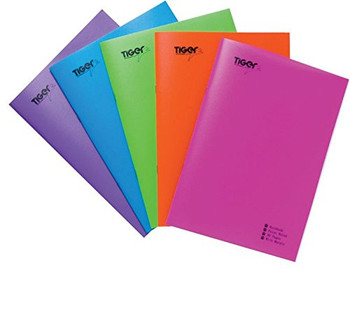 Pack of 20 A4 PP Exercise Notebook - Assorted Colour