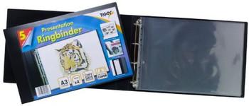 Pack of 6 A3 Landscape Presentation Ringbinder