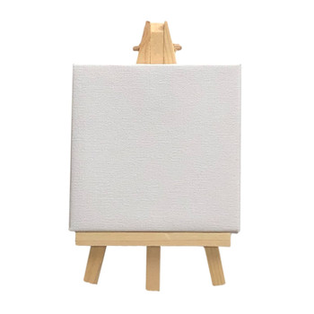 Pack of 288 Mini Easel and Canvas Sets