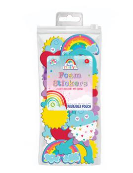 Rainbow Shapes Foam Stickers