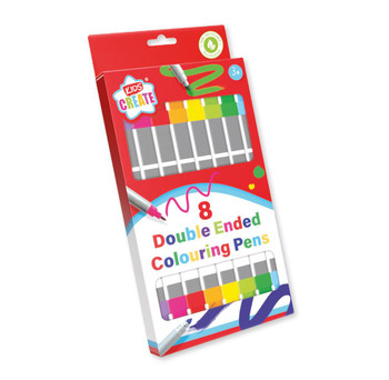 Pack of 8 Double Ended Markers