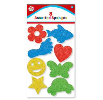 Pack of 8 Assorted Sponges