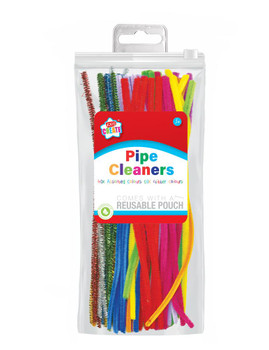 Pack of 50 Assorted Pipe Cleaners