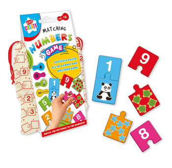 Matching Numbers Puzzle Game