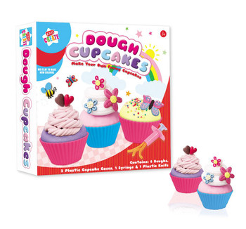 Make Your Own Funny Cupcakes Dough Set