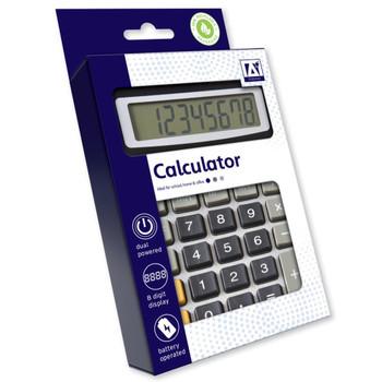 8 Digit Display Desk Calculator