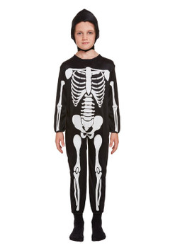 Child Skeleton Fancy Dress Costume 10-12 Year Olds