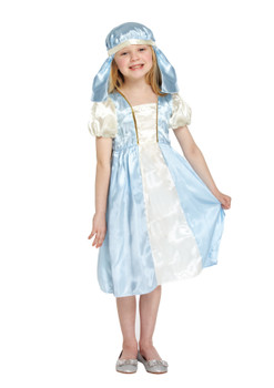 Child Mary Nativity Fancy Dress Costume (7-9 Year Olds)