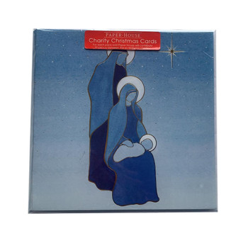 Pack of 6 'The Holy Infant' Design Charity Christmas Cards