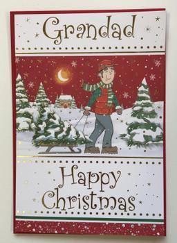 Fun Grandad Christmas Card