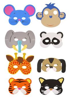 Foam Animal Mask - Assorted