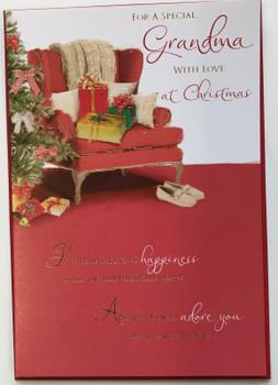 Grandma Traditional Christmas Card