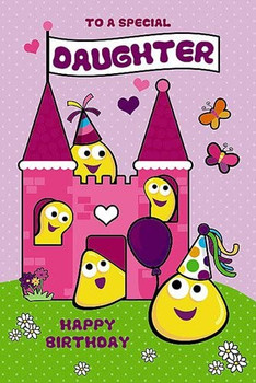 CBeebies Daughter Birthday Card
