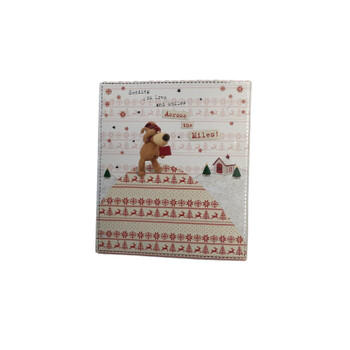 Boofle Sending You Love and Smiles Across the Miles! Christmas Card