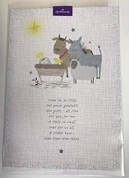 Religious Verse Christmas Greeting Card