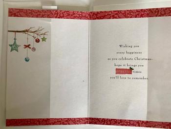 Wishing You Celebrate Christmas Greeting  Card