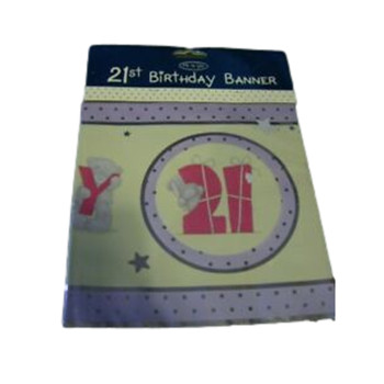 Me to You 21st Birthday Banner