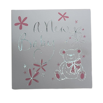 Pack of 6 New Baby Boy/Girl Birth Announcement Cards Arrival with Envelopes