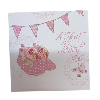 Simon Elvin New Baby Announcement Cards - 6 Cards with Envelopes