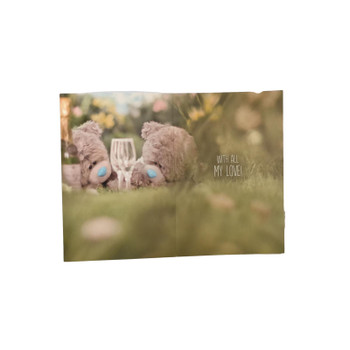 Me To You 3D Holographic Gorgeous Wife Birthday Bear Card