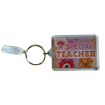 Special Teacher Sentimental Keyring
