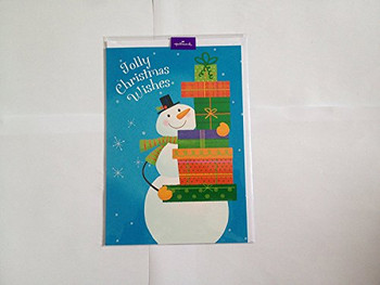 Jolly Christmas Wishes Card...