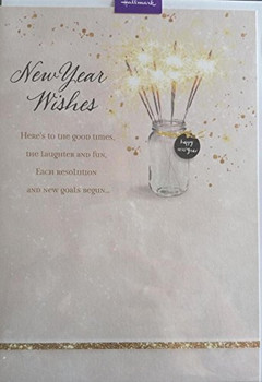 New Year Wishes Card
