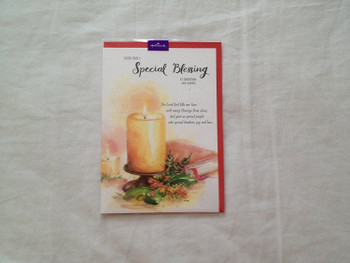 You`re Such a Special Blessing at Christmas and always Greeting Card...