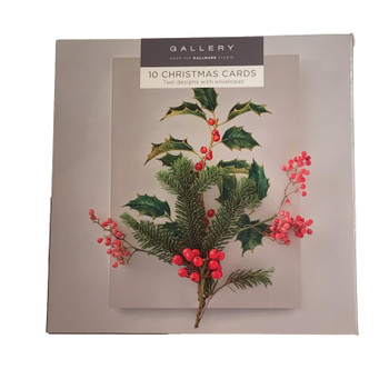 Gallery Christmas Boxed Cards Photographic Pack of 10