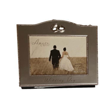 Amore by Juliana Wedding Album with Photo Frame