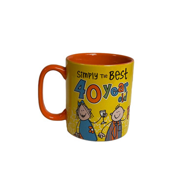 40 Year Old Simply the Best Mug