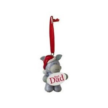 Elliot and Buttons Dad Christmas Tree Decoration