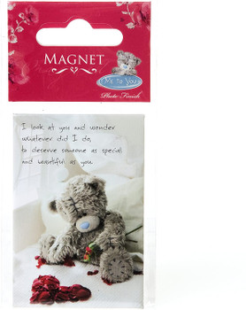 Me To You Tatty Teddy, Magnet with Love Message