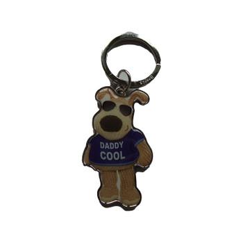 Boofle Daddy Cool Metal Keyring