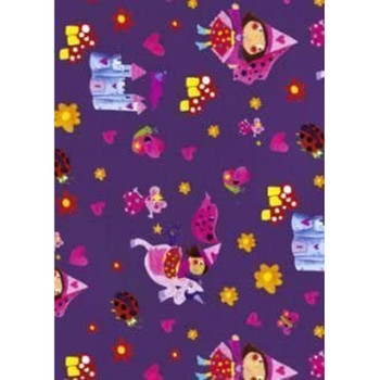 Fairy Tale Princess Gift Wrapping Paper and Gift Tags Pack of 2