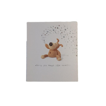 Cute Boofle Spreading Star Wishing You Magic Little Moments Birthday Card