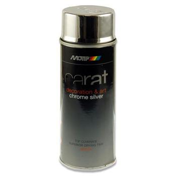 400ml Can Art Chrome Silver Spray Primer by Carat