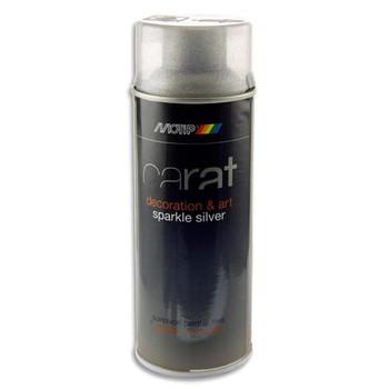 400ml Can Art Sparkle Silver Spray Primer by Carat