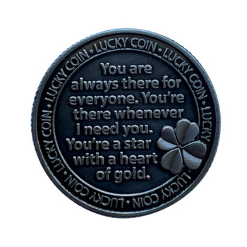 Worth Your Weight In Gold Lucky Coin Engraved Message Keepsake Gift