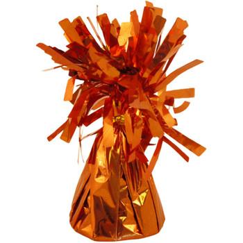 Pack of 12 160g Orange Foil Balloon Floor Weights