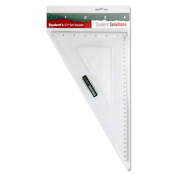 32cm 60 Degree Set Square by Student Solutions
