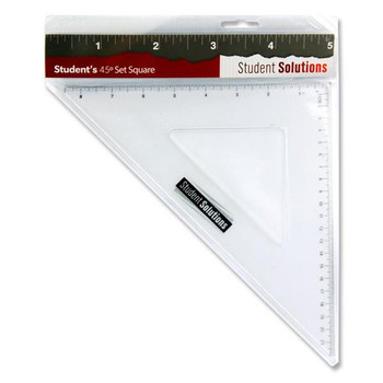 32cm 45 Degree Set Square by Student Solutions