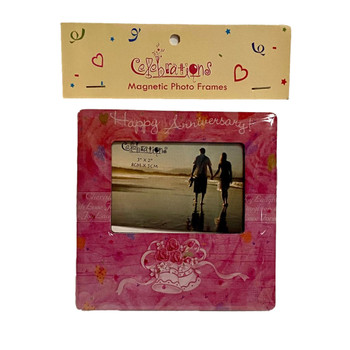Celebrations Magnetic Frame Happy Anniversary