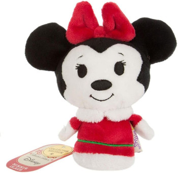 Santa Minnie Mouse Itty Bittys Collector's Edition Plush Soft Toy