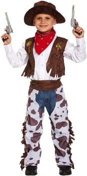 Cowboy Boy's Outfit Age 10-12 Years