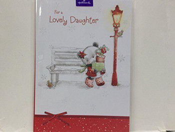 Cute Lovely Daughter Christmas Card