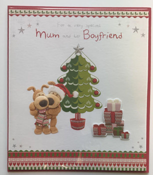 Boofle Mum & Boyfriend Christmas Card