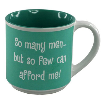 So Many Men Novelty Mug