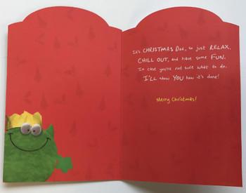 Fab Dad at Christmas, Christmas Greetings Card