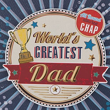 "Worlds Greatest Dad Photo Frame 4"" x 6"""
